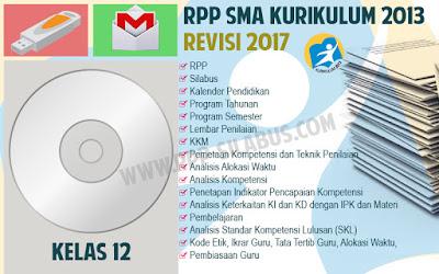 RPP SMA Kelas 12 Kurikulum 2013 Revisi 2017