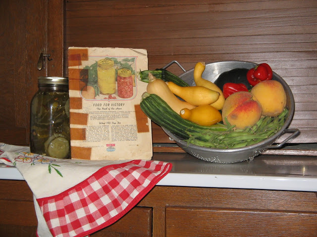 September Food and Recipe Basket at Miz Helen's Country Cottage