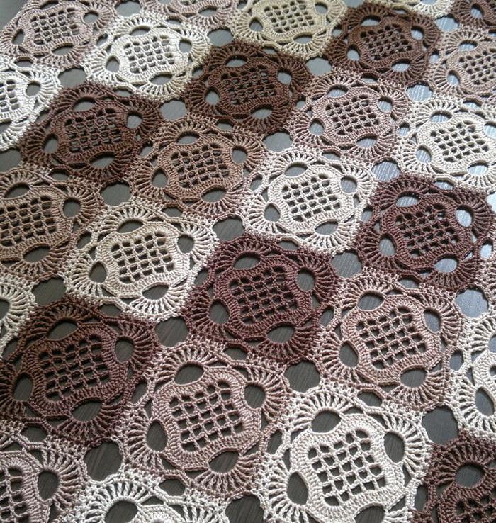 Ergahandmade Crochet Tablecloth Diagram Pattern Step By Step
