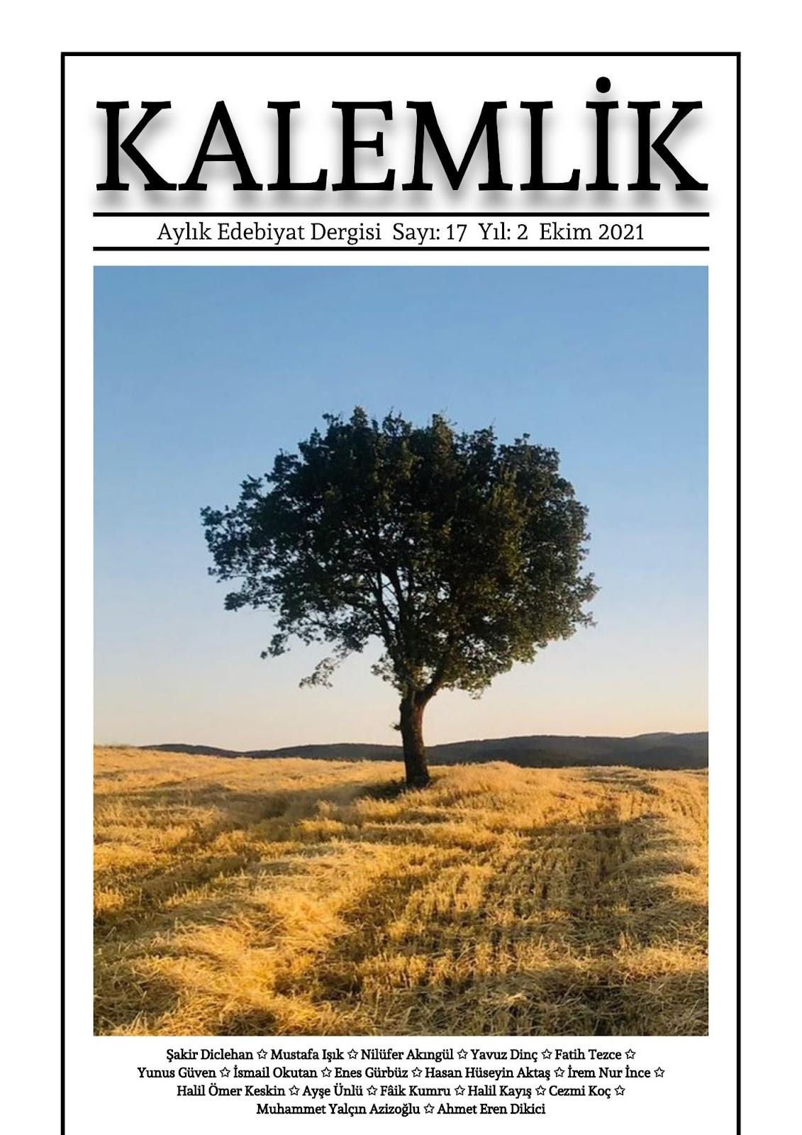 Kalemlik - Edebiyat Dergisi