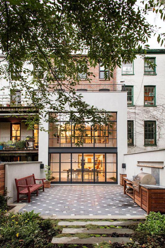 casa en Brooklyn de inspiracion industrial