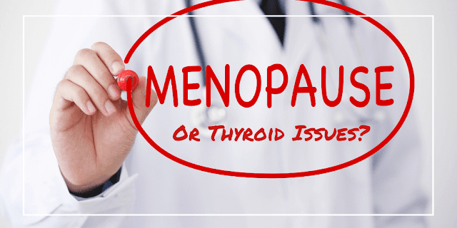 how to tell the difference between thyroid and menopause by barbies beauty bits