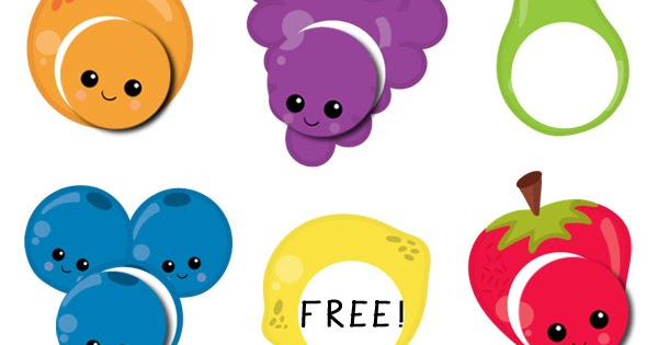 fruit color matching for toddlers totschooling toddler preschool kindergarten educational printables - Color For Toddlers