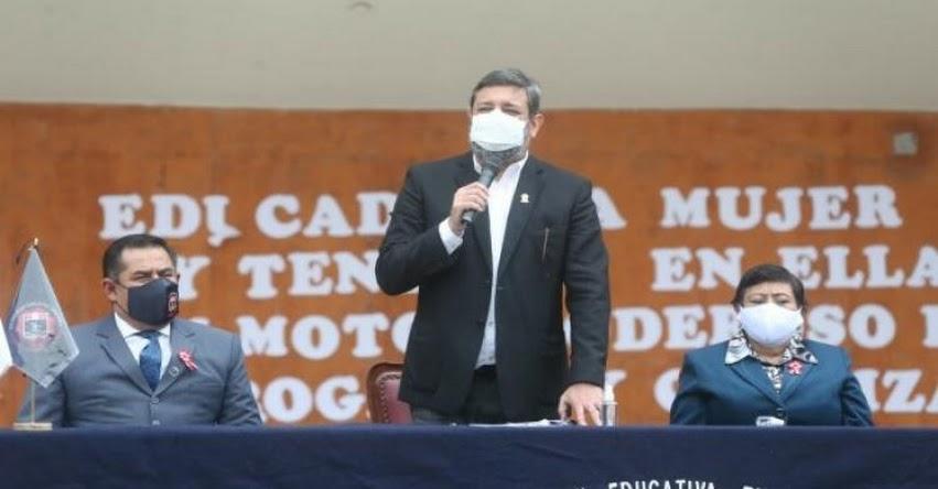 MINEDU: La educación es un instrumento para llegar a una sociedad más justa e igualitaria, sostuvo el Ministro de Educación, Ricardo Cuenca