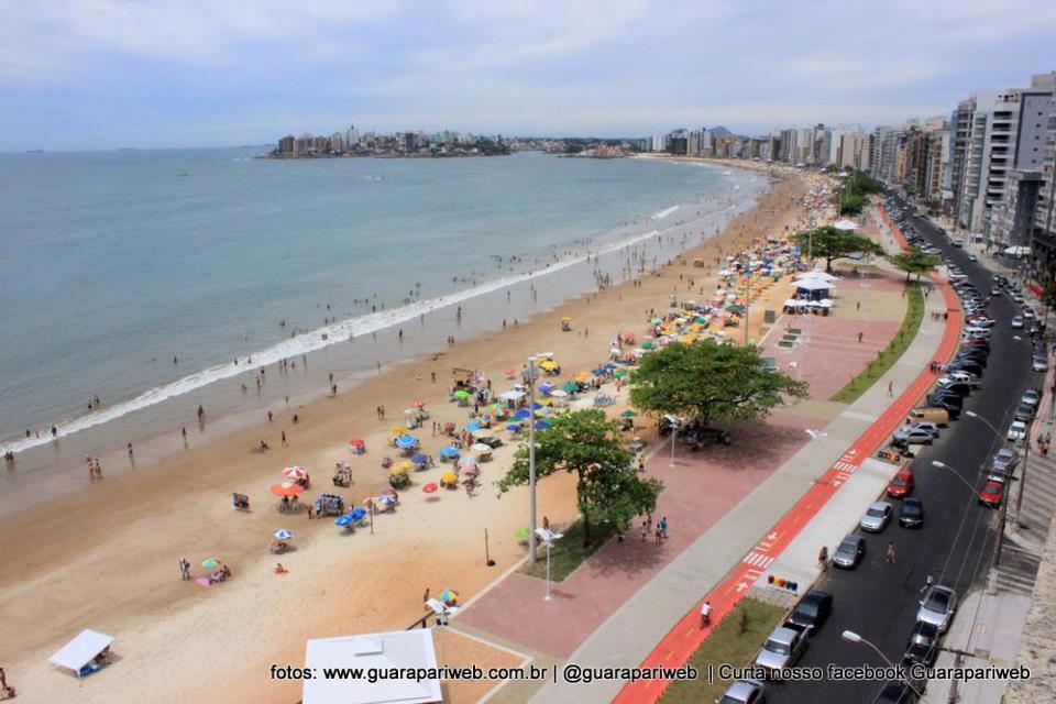 JORGE TÁXI - GUARAPARI/ES: A nova orla da Praia do Morro ...