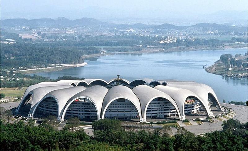Самый большой стадион в мире Rungrado 1st of May Stadium