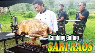 Kambing Guling di Cianjur - Sari Raos, kambing guling cianjur, kambing guling,