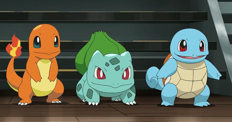 Pokémon Inicial de Kanto