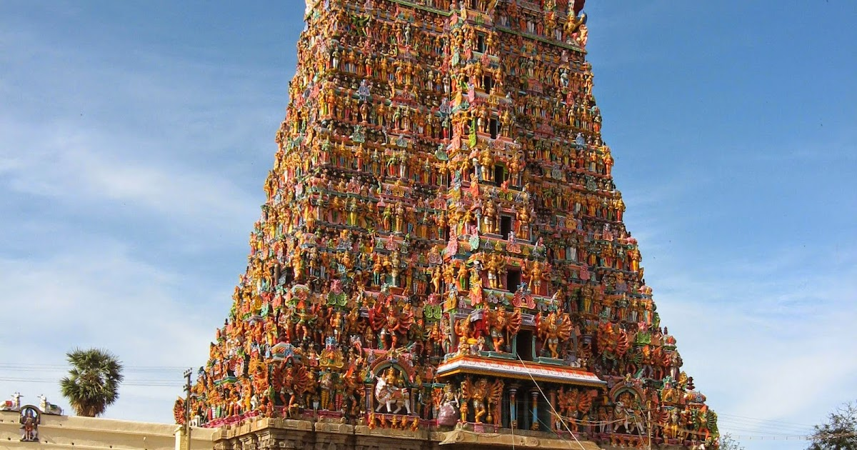 South Indian Or Dravidian Style Of Architecture