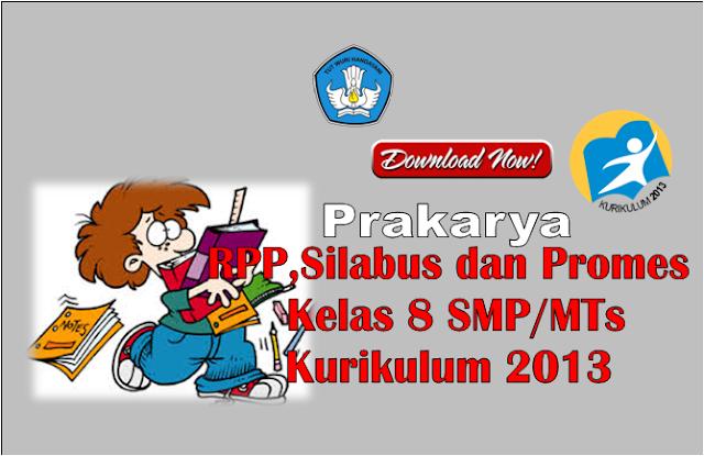 RPP Prakarya Kelas 8 SMP/MTs Kurikulum 2013 Revisi 2017