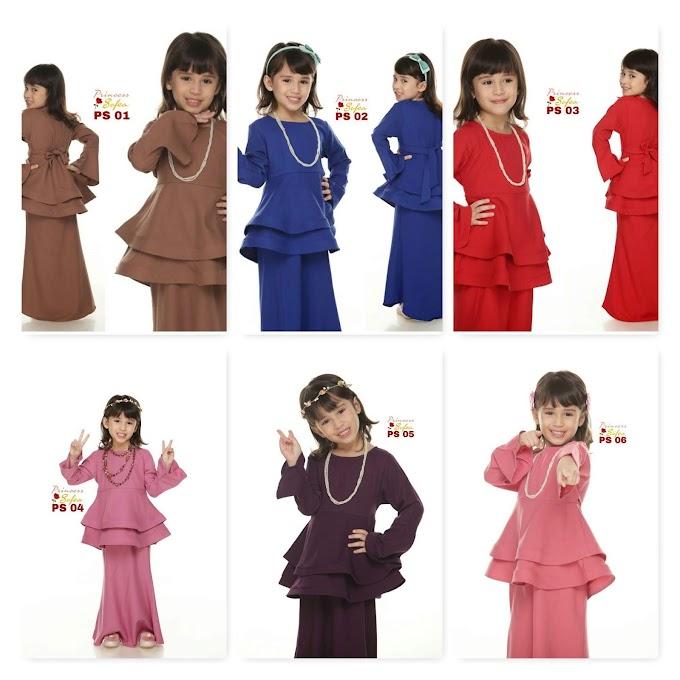 Baju Peplum Budak ~ Princess Sofea