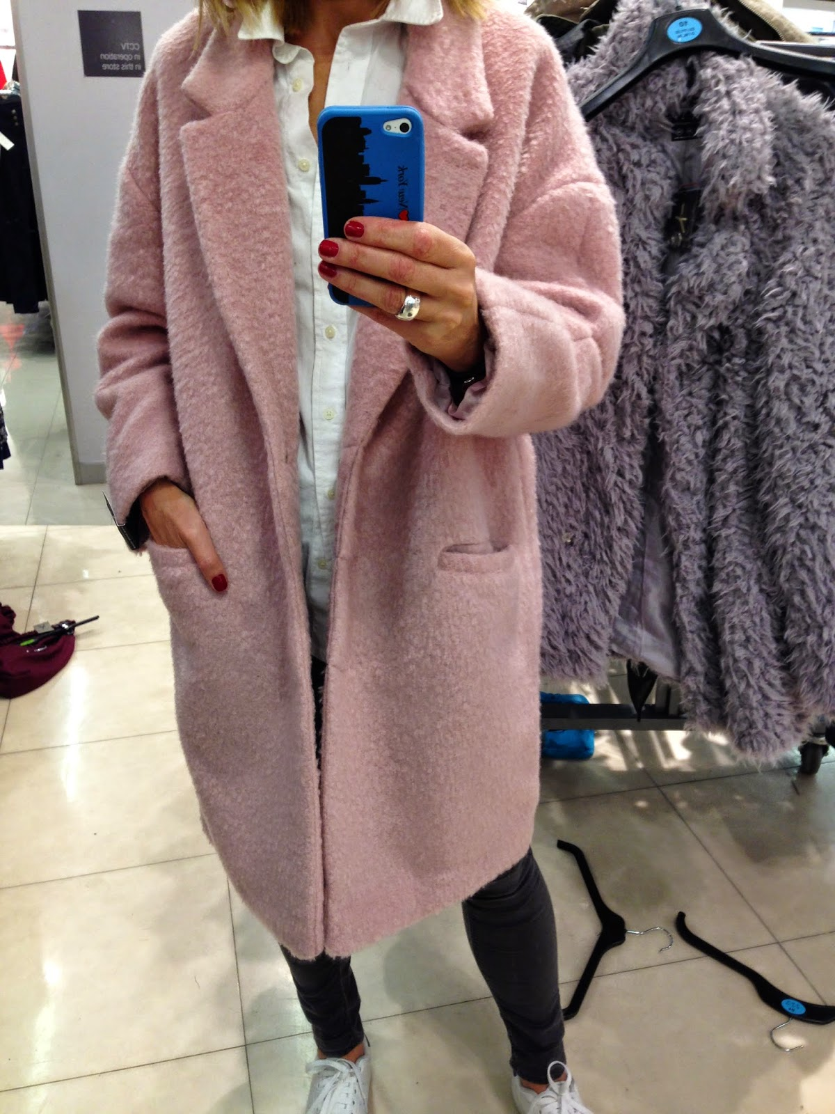 f218f58cb6bb This Primark pink duster coat is gorgeous and this one is a bargain at £25.
