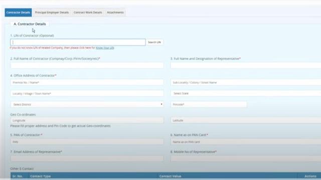 Labour license online apply