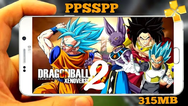 DRAGON BALL Z XENOVERSE 2 PPSSPP ANDROID