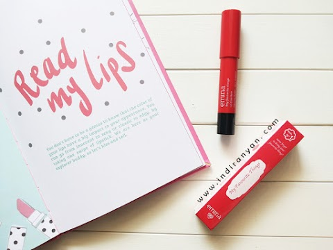 [REVIEW] Emina My Favourite Things Lip Color Balm Dancing Queen