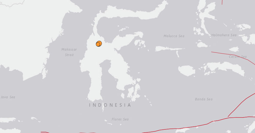 Potente Terremoto en INDONESIA de Magnitud 7.5 - Alerta de Tsunami (Hoy Viernes 28 Septiembre 2018) Sismo Temblor EPICENTRO - Jakarta - Célebes - Palu - Sulawesi - Makassar - Lombok - Mataram - Sembalun Lawang - USGS