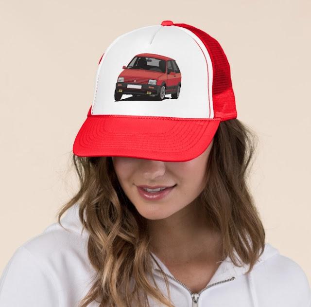 80's Seat Ibiza SXi hat cap