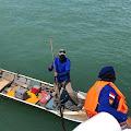 Polres Bintan bagikan Sembako Di Perairan Laut Tg. Uban