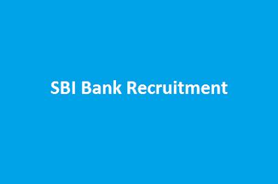 SBI Bank Recruitment