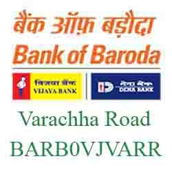 Vijaya Baroda Bank Surat‐ Varachha Road Branch New IFSC, MICR