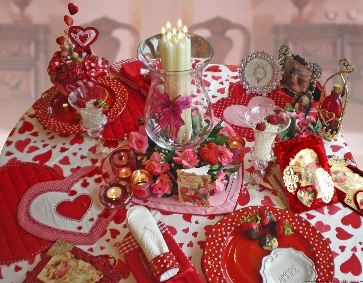 Valentine's Day Bed Decoration Ideas