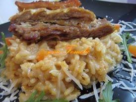 Pečena teletina s rižom