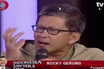 """Kenapa Rocky Gerung Bela 212 dan Kritik Jokowi? """"Presiden Tak Ngerti Kemajemukan"""""""