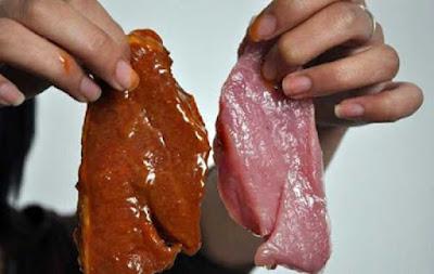 Thịt lơn giả thịt bò và thịt bò không rõ nguồn gốc
