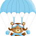 Bears Fliying Clip Art.