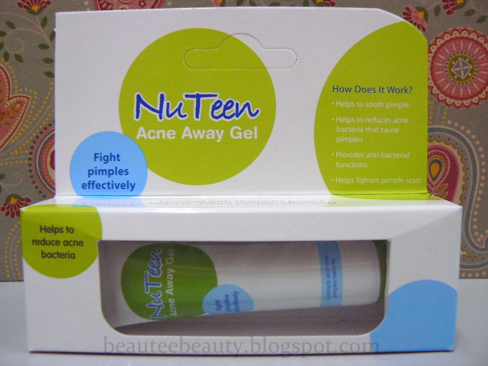 M# Nuteen Acne Away Gel 12ml Help Contracts And Dries Pimple Effectively Skin Care