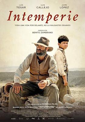 Intemperie 2019 DVD R2 PAL Spanish