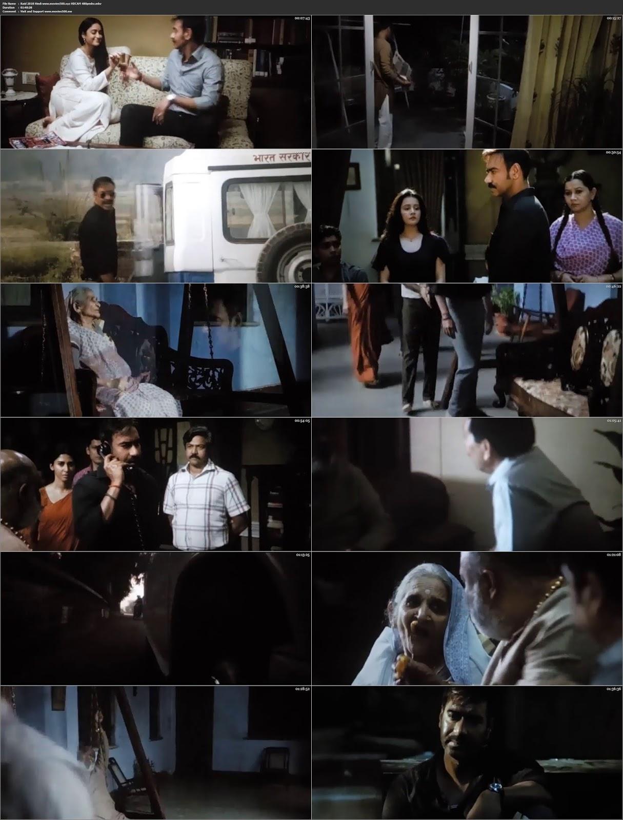Raid 2018 Bollywood 300MB pDVDRip 480p HD at movies500.site