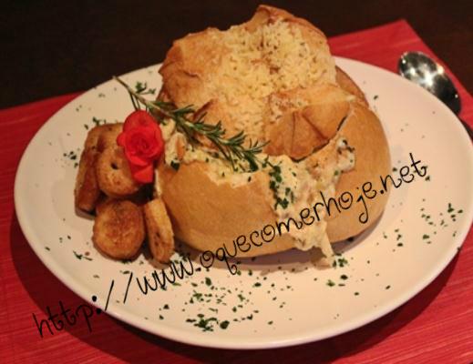 Sopas no pão