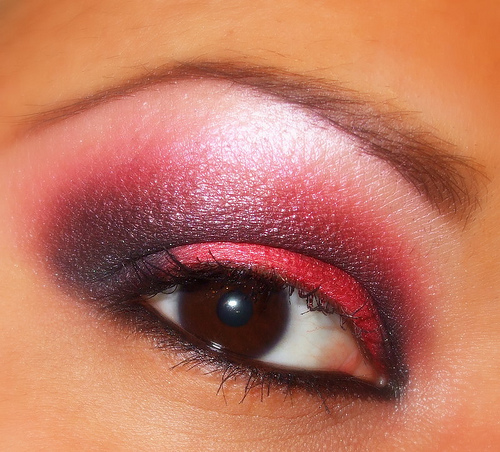 Red Eye Makeup Christine O Donnell