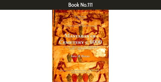 Book No.111 Mastabas of Cemetery G 6000