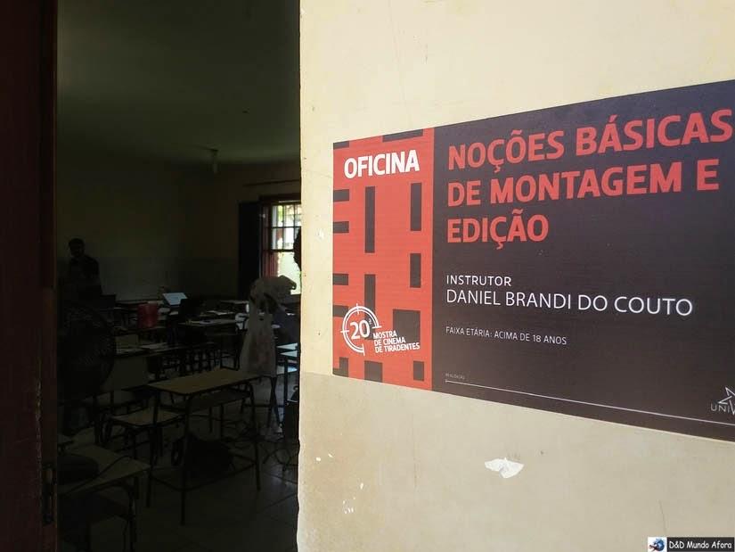 Mostra de Cinema de Tiradentes - Oficina de Montagem e Edição de Vídeo