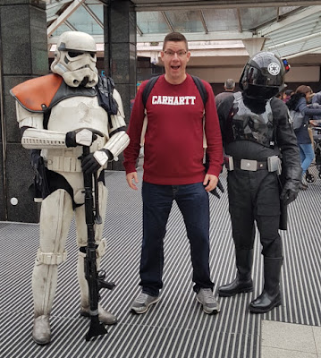 Comic Con at the Merseyway Shopping Centre in Stockport