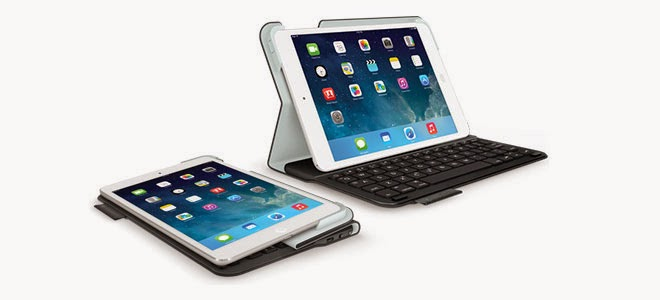 Logitech and Belkin accessories for Apples iPad Air