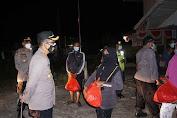 Patroli Skala Besar, 1.000 Paket Sembako Dibagikan Kepada Masyarakat Yang Membutuhkan