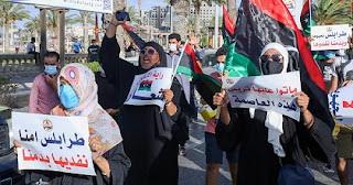 ليبيا، طرابلس، فايز السراج، حكومة الوفاق، الحراك الشعبي، الأمم المتحدة، تحالف القوى الوطنية، زايد هدية، اندبندنت عربية، حربوشة نيوز