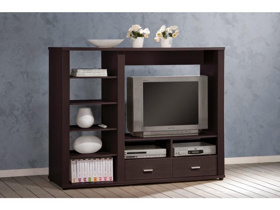 meuble tv avec colonne rangement maison design. Black Bedroom Furniture Sets. Home Design Ideas
