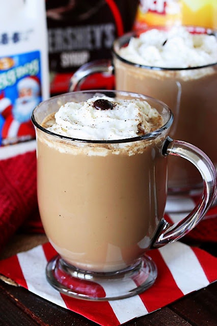 Mug of Mocha Eggnog with Whipped Cream Image