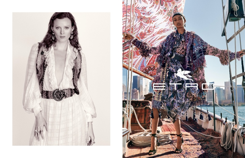 Etro Spring Summer 2020 Campaign