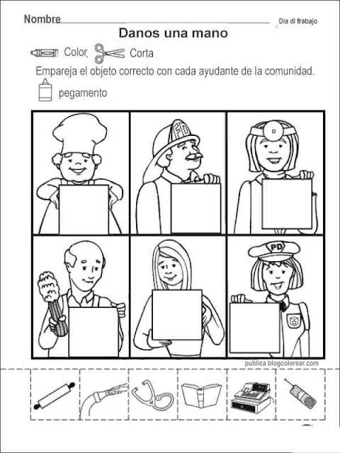 Dibujos Dia Del Trabajo Para Colorear Colorear Dibujos Infantiles