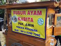 Nikmatnya Bubur Ayam Kabita Pak Amin Depan Kampus IPB Baranangsiang, Bogor