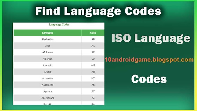 Find ISO Language Codes | Language codes | List of ISO 639-1 codes