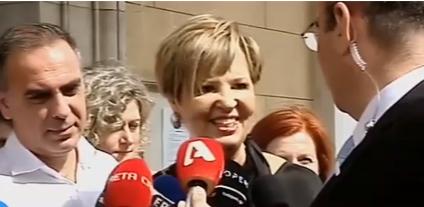 Όλγα Γεροβασίλη: Είμαι εδώ για να υποστηρίζω τη δουλειά της κοινοβουλευτικής ομάδας, μια εξαιρετικά τιμητική θέση και αυτό ακριβώς θα κάνω