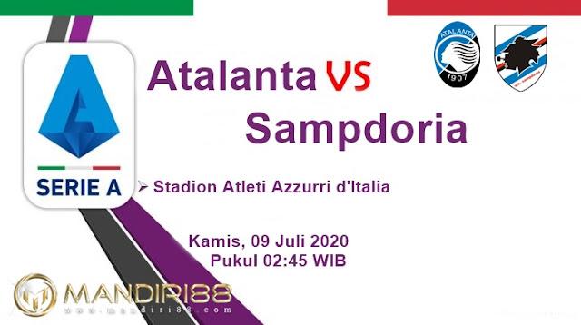 Prediksi Atalanta Vs Sampdoria, Kamis 09 Juli 2020 Pukul 02.45 WIB