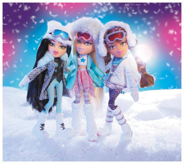 Bratz Snowkissed dolls