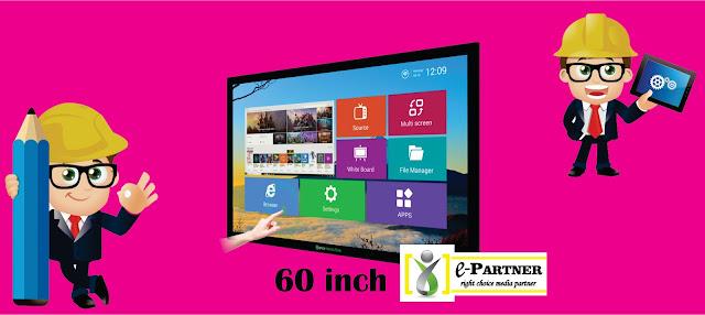 tv touchscreen responsif siap disewakan